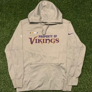 🏈Minnesota Vikings Nike Therma-Fit Hoodie